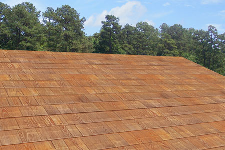 Shingles wood fire resistant for Fire resistant roofing